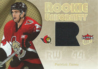 2005-06 Fleer Ultra Rookie Uniformity PATRICK EAVES Jersey NHL 01917