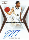 2012-13 Leaf Ultimate JEFFERY TAYLOR Auto NBA Basketball Autograph 01613
