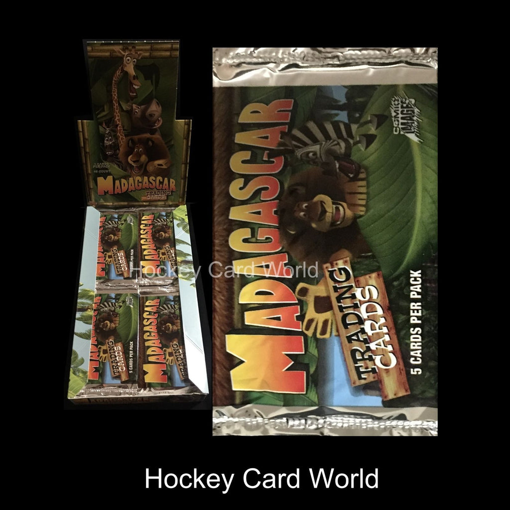 2005 Comic Madagascar Trading Cards 5 Card Sealed Hobby Pack