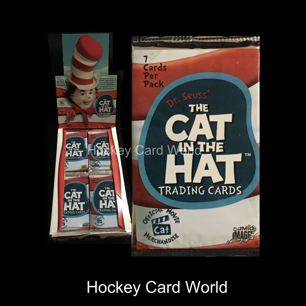 2003 Comic Dr. Seuss The Cat In The Hat Trading 7 Card Sealed Hobby Pack