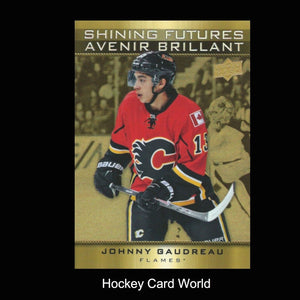 2015-16 Upper Deck Tim Hortons #SF3 JOHNNY GAUDREAU Shining Futures 00563