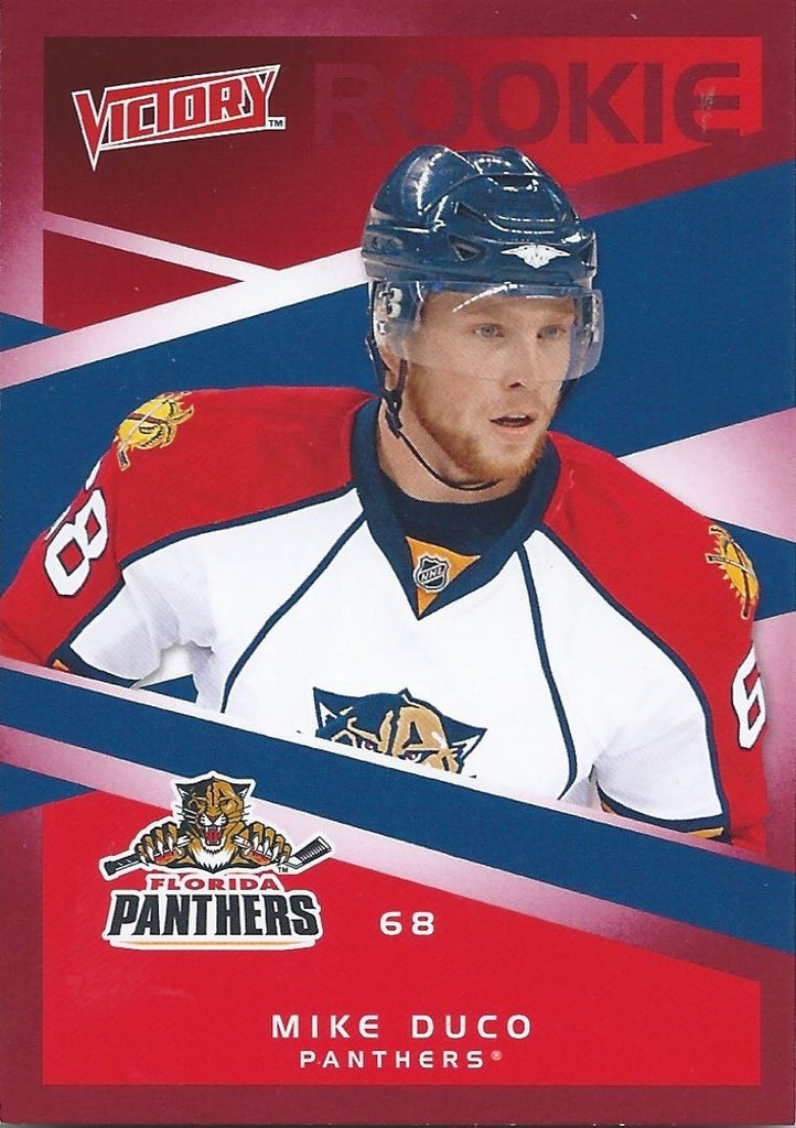2010-11 Upper Deck Victory Red MIKE DUCO Rookie $12 UD RC NHL 00864
