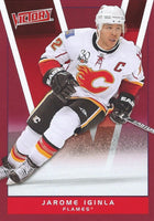 2010-11 Upper Deck Victory Red JAROME IGINLA $12 UD Calgary Flames 00642