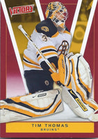 2010-11 Upper Deck Victory Red TIM THOMAS $10 UD NHL Boston Bruins 00649
