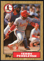 1987 Topps #8 Terry Pendleton Cardinals