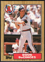 1987 Topps #22 Doug DeCinces Angels