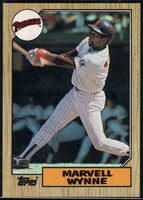 1987 Topps #37 Marvell Wynne Padres