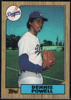 1987 Topps #47 Dennis Powell Dodgers