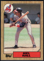 1987 Topps #51 Mel Hall Indians