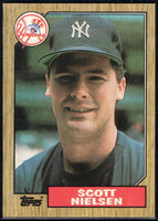 1987 Topps #57 Scott Nielsen RC Rookie Yankees