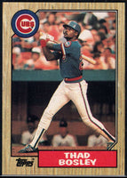 1987 Topps #58 Thad Bosley Cubs
