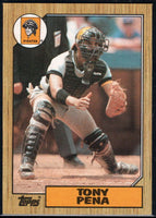 1987 Topps #60 Tony Pena Pirates