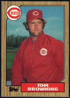 1987 Topps #65 Tom Browning Reds