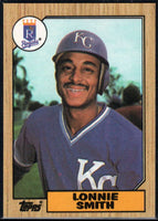 1987 Topps #69 Lonnie Smith Royals