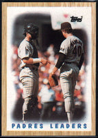 1987 Topps #81 Terry Kennedy/Andy Hawkins Padres Padres Leaders