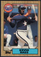 1987 Topps #85 Kevin Bass Astros