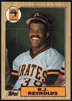 1987 Topps #109 R.J. Reynolds Pirates