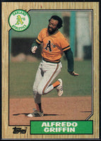 1987 Topps #111 Alfredo Griffin Athletics
