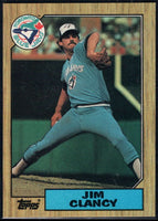 1987 Topps #122 Jim Clancy Blue Jays