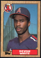 1987 Topps #139 Devon White RC Rookie Angels