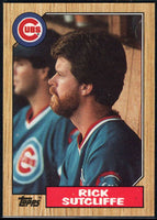 1987 Topps #142 Rick Sutcliffe Cubs