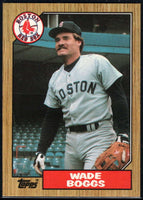 1987 Topps #150 Wade Boggs Red Sox