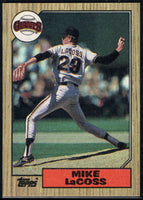 1987 Topps #151 Mike LaCoss Giants
