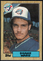 1987 Topps #153 Duane Ward RC Rookie Blue Jays