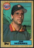 1987 Topps #167 Jim Deshaies RC Rookie Astros