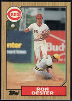 1987 Topps #172 Ron Oester Reds