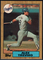 1987 Topps #173 Alex Trevino Dodgers