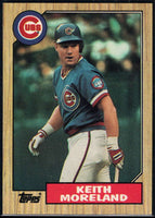 1987 Topps #177 Keith Moreland Cubs