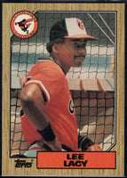 1987 Topps #182 Lee Lacy Orioles
