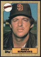 1987 Topps #183 Andy Hawkins Padres