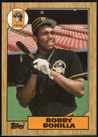 1987 Topps #184 Bobby Bonilla RC Rookie Pirates