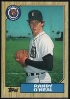 1987 Topps #196 Randy O'Neal Tigers UER