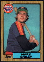 1987 Topps #197 Mark Bailey Astros
