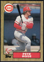 1987 Topps #200 Pete Rose Reds
