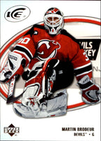 2005-06 Ice #56 Martin Brodeur MINT Hockey NHL NJ Devils