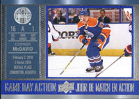 2016-17 Tim Hortons Game Day Action #GDA-7 Connor McDavid NM-MT Oilers 02707