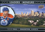 2016-17 Tim Hortons Local Leaders #LL-2 Taylor Hall NM-MT Hockey NHL Oilers