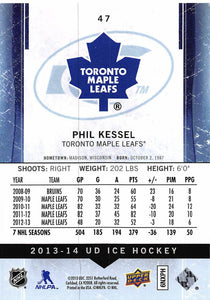 2013-14 Upper Deck Ice #47 Phil Kessel MINT