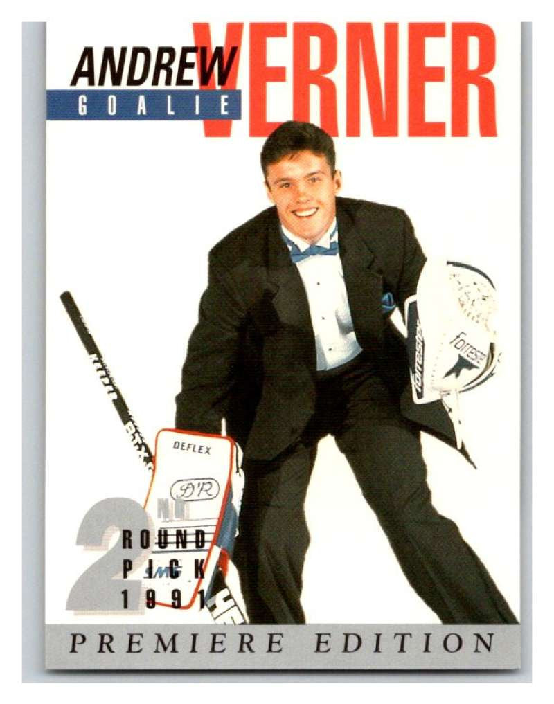 (HCW) 1991 Arena Draft Picks #25 Andrew Verner Oilers NHL Mint