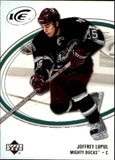 2005-06 Ice #1 Joffrey Lupul MINT Hockey NHL Ducks