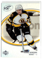 2005-06 Ice #9 Patrice Bergeron MINT Hockey NHL Bruins