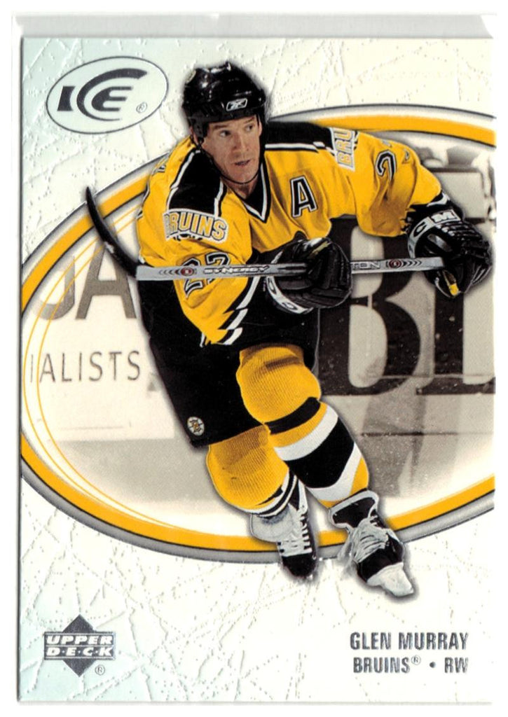 2005-06 Ice #11 Glen Murray MINT Hockey NHL Bruins