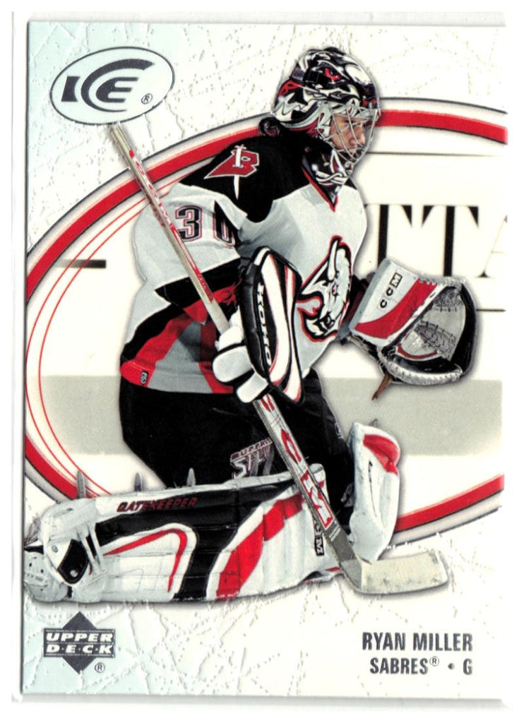 2005-06 Ice #12 Ryan Miller MINT Hockey NHL Sabres