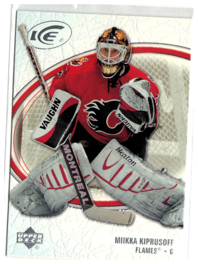 2005-06 Ice #15 Miikka Kiprusoff MINT Hockey NHL Flames