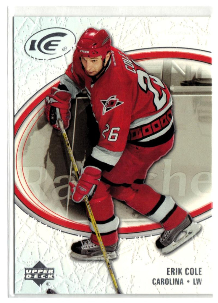 2005-06 Ice #18 Erik Cole MINT Hockey NHL Hurricanes