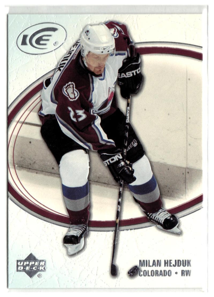 2005-06 Ice #23 Milan Hejduk MINT Hockey NHL Avalanche